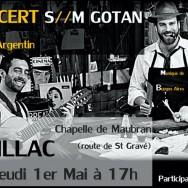 Concert de tango argentin à Peillac
